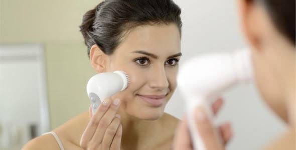 brosse visage micro-oscillation